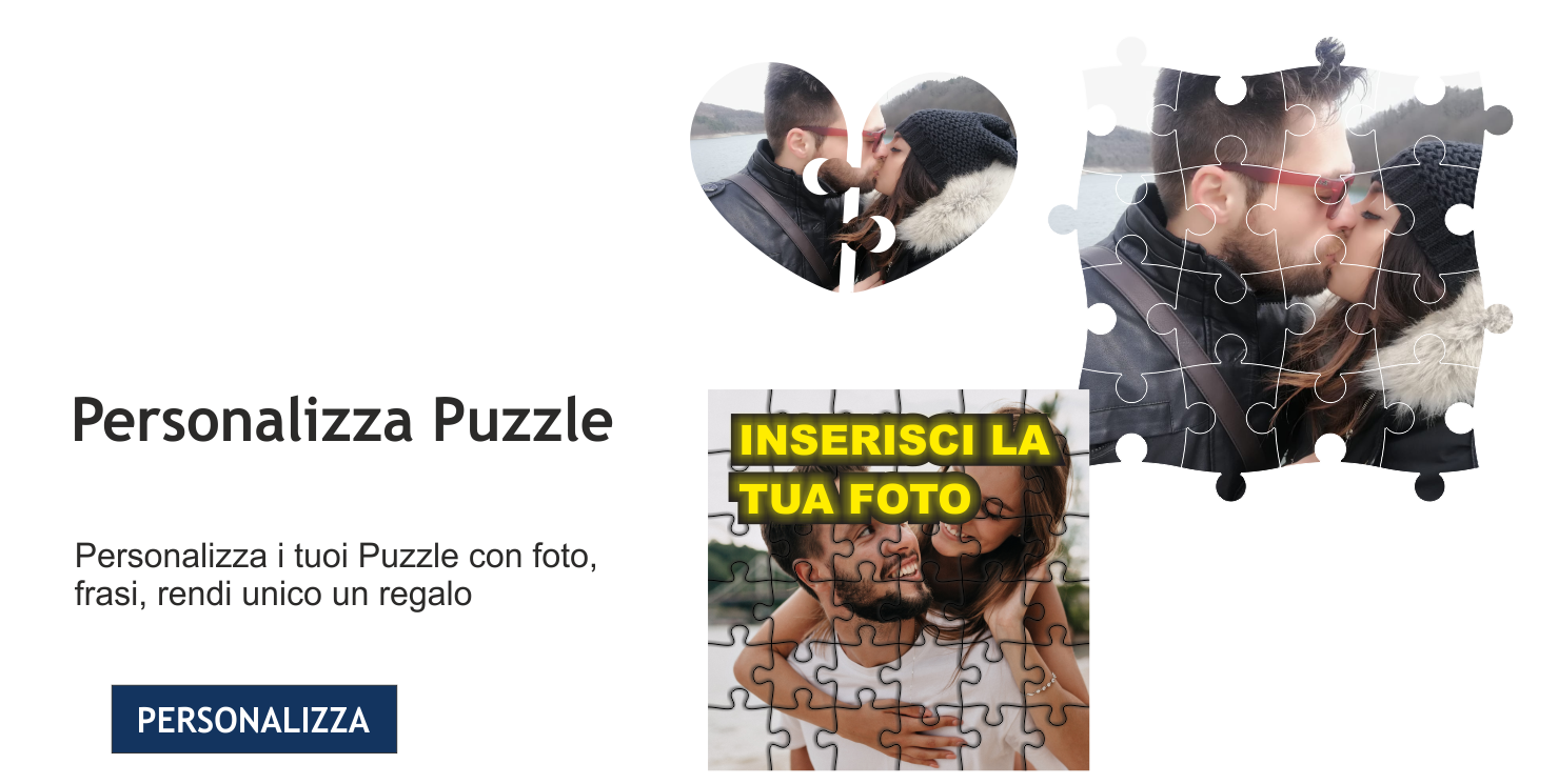 Personalizza i tuoi puzzle
